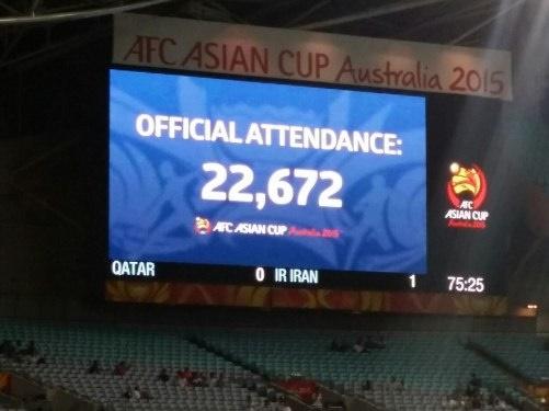 29985 199 تعداد دقیق تماشاگران بازی ایران   قطر چقدر بود؟
