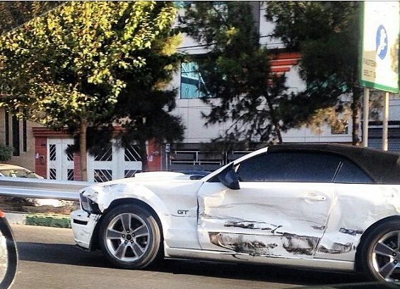 ماشین های لوکس ایران قیمت خودرو لوکس خودروهای میلیاردی ایران تصادف خودرو لوکس امنیت خودرو خارجی