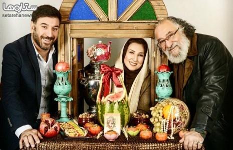 عکس یلدایی سه بازیگر معروف