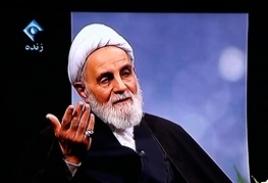 بغض ناطق در تلویزیون:هاشمی گفت مرا محاکمه کنیدولی انقلاب باقی بماند/نادانها ذهن مردم راخراب کردند