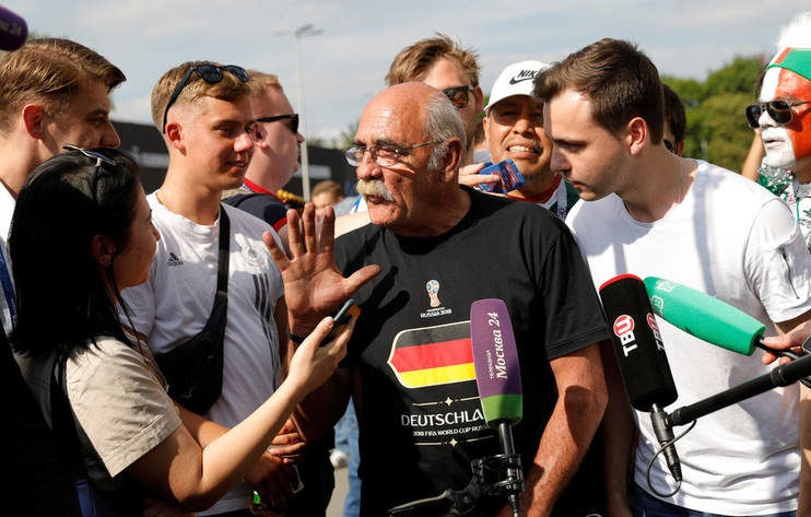 متفاوتترین مسافر جام جهانی + عکس