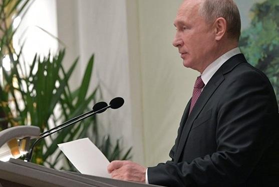 پوتین: تحریمهای غرب مانع شراکت روسیه با دیگر کشورها نمیشود/ صرفا با بازسازی سوریه میتوان مردم را به خانههایشان بازگرداند