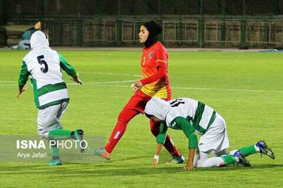 کتک کاری در فوتبال زنان در ایران